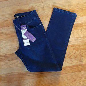 *2/$14* Blueberry Denim Jeans Pull On NWT Lg